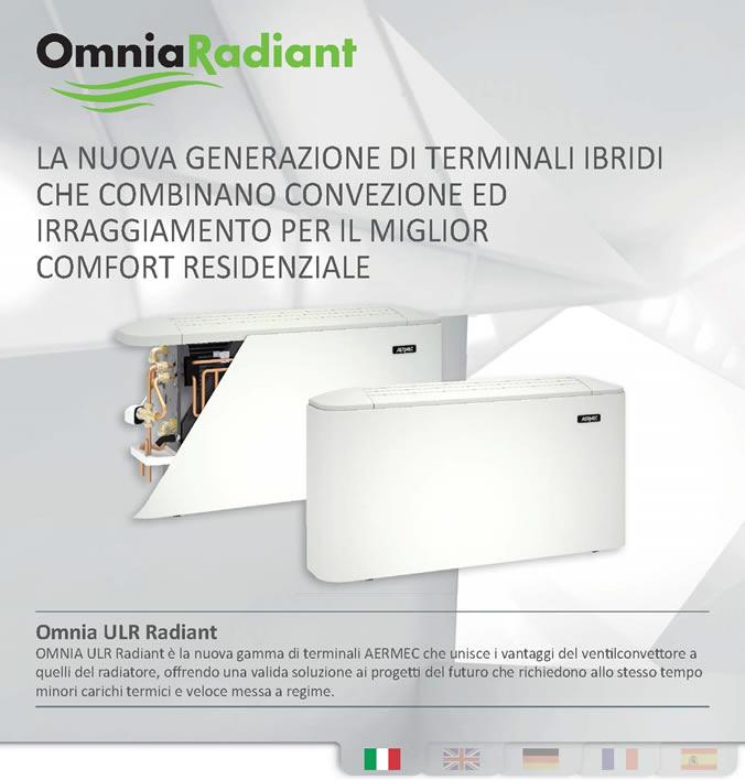 Termoconvettori Ad Acqua Scheda Tecnica.Aermec Presenta La Serie Di Ventilconvettore Omnia Ul Radiant